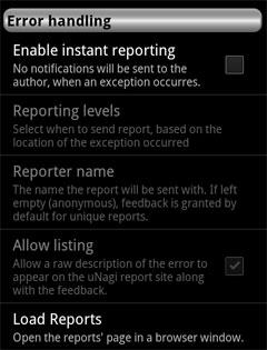 uNagi - Nagios and Icinga client for android platform - Step
